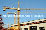 Carga máxima do fornecedor Tc5516 de China do guindaste de torre da alta qualidade de Mingwei: carga 8t/Tip: comprimento 1.6t/Jib: 55m