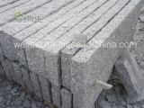Graue Granit-Kandaren, Granit-Bordstein-Stein, Straßen-Bordsteine, rauer Block