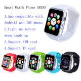 Téléphone intelligent de montre de Bluetooth avec la fente de carte SIM (GM18S)