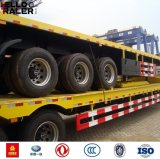 2/3 Aanhangwagen van de Container van het Staal van As Q235 Q345b Flatbed