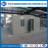 Villa préfabriquée d'utilisation en acier de bureau de mesure de lumière d'approvisionnement de la Chine