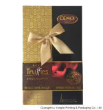 Chocolate Paper Gift Box/Cardboard Box com Hot Stamping (YL-HL401)