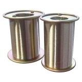 De gekwalificeerde Producten messing-Geplateerde Draad van de Slang, de Draad van het Staal (0.30mm)