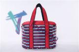 販売新しいデザインFoldableオックスフォード熱いファブリック熱絶縁されたピクニック昼食袋