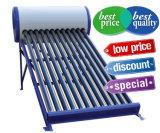Pression haute-basse/Unpressure/chauffe-eau à énergie solaire de tube électronique non-pressurisé de réservoir d'eau chaude de collecteur de système de caloduc d'acier inoxydable
