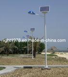 sistema solar del alumbrado público de los 6m poste 40W LED