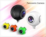 720 appareil-photo panoramique duel du degré 360 réels Lensdegree