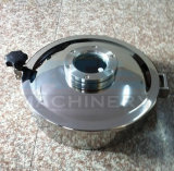 Cubiertas de boca higiénicas del tanque del recipiente del reactor del círculo del acero inoxidable (ACE-RK-A5)