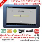 "Novo 5.0 ""IPS Touch Car Tablet PCS MID com carro DVR, câmera de vídeo digital de carro 5.0mega, câmera de Rearview de estacionamento, Bluetooth, Transmissor FM, AV-in, WiFi"