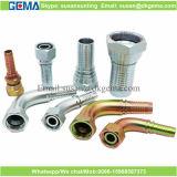 Guarnición de tubo hidráulica de goma hidráulica del acero de carbón de la instalación de tuberías de la guarnición de manguito