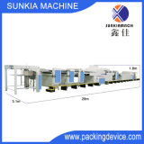 Автоматическая высокоскоростная UV лакировочная машина с блоком чистки порошка для 150g~600g бумажного Xjb-4 (1600)