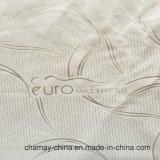 Бежевая линия ткань конспекта цвета сатинировки для тюфяка