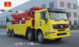 Sinotruk 8X4 토우 구조차 차, 판매를 위한 운반대 트럭