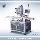 Machine van de Etikettering van de sticker de Hoogste Zij voor Plastic Vlakke Flessen