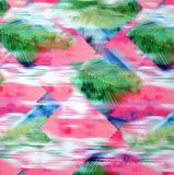 Ткань Spandex абстрактных диамантов Nylon для Sportswear, Legging, Swimwear, Yogawear