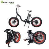 """20 """"販売のための折られた脂肪質のタイヤの雪山の電気バイク"""
