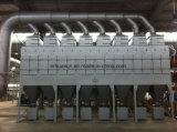 Collettore di polveri della cartuccia di filtro dell'aria con lo sfiato di esplosione ed il coperchio dell'adattatore del timpano