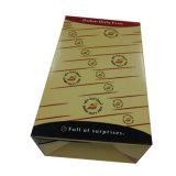 Contenitore poco costoso di maniglia di trasporto del cartone di vendita con qualità durevole