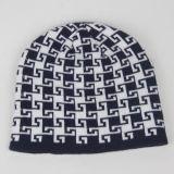 メンズレディース男女兼用のつばめのGirdの印刷によって編まれる冬の暖かい帽子の厚い帽子(HW419)