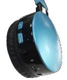 Наушники Bluetooth над ухом, Hi-Fi стерео беспроволочным шлемофоном