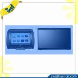 옥외 읽기 쉬운 LCD 광학적인 접합