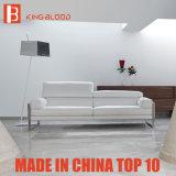 Recliner moderne avec le sofa en cuir pur de sofa de couleur pour la salle de séjour
