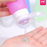 Подгонянные дешевые Refillable бутылки Toiletry перемещения силикона