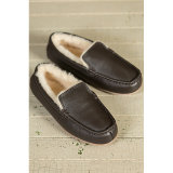 従来のハンドメイドの方法冬の低い様式の人の靴