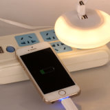 Charger with LED Sensor Night Light