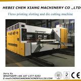 La impresora de color automática Chenxiang-408 4 Slotter y muere el cortador