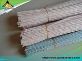 Tubo/tubo mezclados de la fibra del carbón de la superficie de la fibra de vidrio