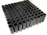 Tubo resistente alla corrosione/Tupe della fibra del carbonio di Kevlar