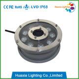 304 스테인리스 9X3w LED 수중 샘 빛