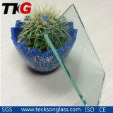 vidro de flutuador decorativo desobstruído de 3-4mm com alta qualidade