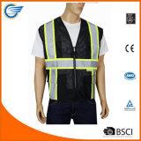 Chaleco respirable de la seguridad del depósito de la seguridad con los colores múltiples disponibles