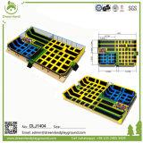 Trampoline пригодности, Trampolines с блоками ямы пены для сбывания