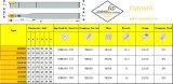Cutoutil Prdcn 2020k12 voor Staal Hardmetal die Standaard het Draaien Hulpmiddelen aanpassen