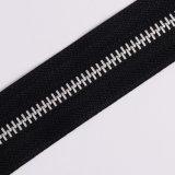 Do Zipper de alumínio do metal do Zipper 5# do no. 5 corrente longa
