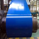 El material de construcción prepintó la bobina de acero galvanizada de PPGI para la hoja del material para techos