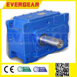 Caixa de engrenagens vertical chanfrada industrial helicoidal resistente série elevada do HB do ruído do torque da baixa