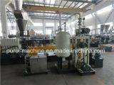 Recyclerende Plastic Granulator en de TweelingExtruder van de Schroef