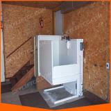 Elevador casero usado de la elevación hidráulica