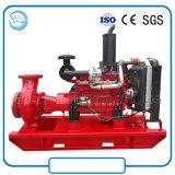 Dieselmotor-einzelnes Stadiums-horizontale zentrifugale Wasser-Pumpe