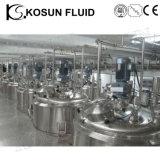 Réservoir de mélange de rondelle d'acier inoxydable de shampooing liquide de savon