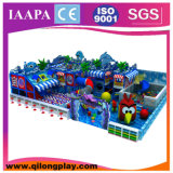 Campo de jogos interno comercial da alta qualidade do tema do espaço (QL-049)