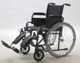 Steel funzionale Manual Wheelchair, Folding e Comfortable (YJ-005L-ELR)