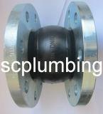 Empalme de goma flexible de la sola esfera