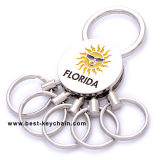 Catena chiave del metallo su ordinazione di promozione della Florida del ricordo (BK11232A)