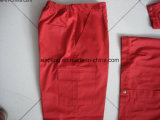 工場生産のカスタム仕事着、ジャケットおよびズボンの長袖の、任意選択ファブリック、様式