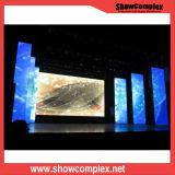Pequeña muestra de interior de la visualización de LED del alquiler del pixel HD P2.5